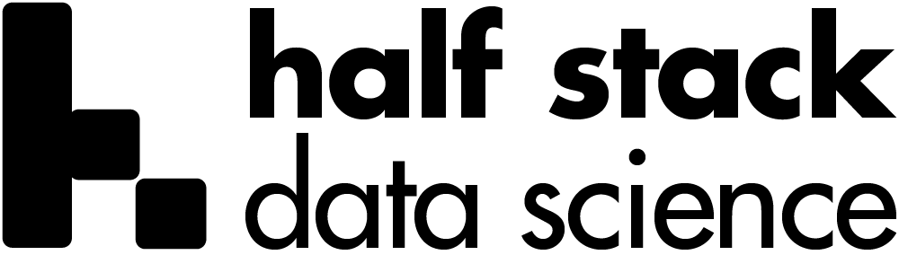 Logo for Half Stack Data Science
